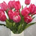 """Fleur de Tulipe Artificielle /Pièce - 26"""""""