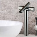 Robinet de Lavabo&Vasque - Simple Trou Double Levier - Laiton Fini Chrome (6017)