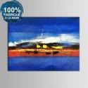Peinture à l'Huile Abstraite 100% Peinte à la Main sur Canevas (DK-JX-YH025)