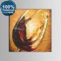 Peinture à l'Huile 100% Peinte à la Main sur Canevas - Nature Morte Abstraite (DK-JX-YH026)