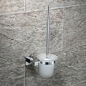 Support à Brosse pour Toilettes Laiton Fini Chrome (2508)