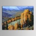 Peinture à l'Huile Imprimée sur Toile en Fibre Chimique sans Cadre - Paysage (DK-PH-DH12)
