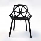 Chaise noire (T878E007-BK)