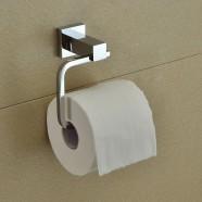 Support pour Papier Hygiénique - Laiton Fini Chrome (80851)