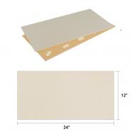 DECORAPORT NSM Panneau Mural, Fibre Fine,24'' x12'' (NFF-04) (10 Pcs-Paquet) (20,01 sq.ft/ Paquet)