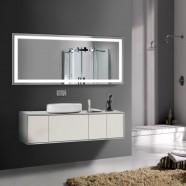 70 x 32 po Miroir LED Salle de Bain Horizontal avec l'Interrupteur Tactile (DK-OD-CK010-A)