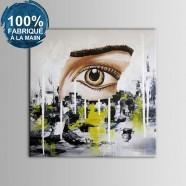 Peinture à l'Huile Abstraite 100% Peinte à la Main sur Canevas (DK-JX-YH020)