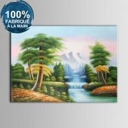 Peinture à l'Huile 100% Peinte à la Main sur Canevas - Paysage Réaliste (DK-JX-YH063)