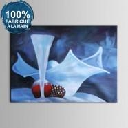 Peinture à l'Huile 100% Peinte à la Main sur Canevas - Nature Morte Abstraite (DK-JX-YH012)