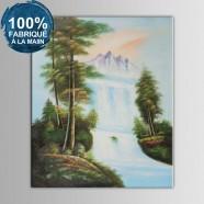 Peinture à l'Huile 100% Peinte à la Main sur Canevas sans Cadre - Paysage Réaliste (DK-JX-YH061)