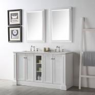60 po Vanité Salle de Bain Sans Miroir (DK-6360-W)