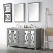 60 po Vanité Salle de Bain Sans Miroir (DK-6460-CG)