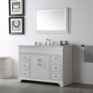 48 po Vanité Salle de Bain Sans Miroir (DK-6748-W)