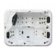 Spa Extérieur/Bain à Remous/Mini-piscine pour 3 Personnes à 31 Jets (DK-Diablo)