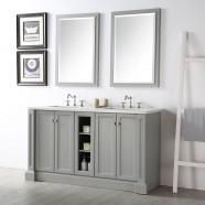 60 po Vanité Salle de Bain Sans Miroir (DK-6360-CG)