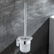 Support à Brosse pour Toilettes - Laiton Fini Chrome (50308)