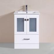 24 po Vanité en contreplaqué avec lavabo (DK-T9312-24WV)