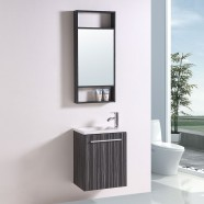 """Ensemble 3 pièces avec vanité 20"""", lavabo et miroir assorti (DK-TH21302A-SET)"""