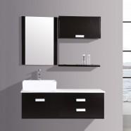 "Ensemble vanité 51"" avec lavabo, miroir assorti (DK-T9099B-SET)"