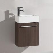 18 po Vanité en contreplaqué avec lavabo (DK-TH20160A-V)