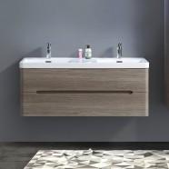48 po Vanité suspendu au mur avec double lavabo (BNW1200D-V)