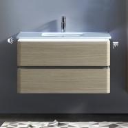36 po Vanité suspendu au mur avec lavabo (BNW9002LT-V)