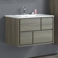 32 po Vanité suspendu au mur avec lavabo (VSW8002-V)