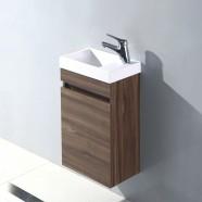 16 po Vanité suspendu au mur avec lavabo (MS400D-V)
