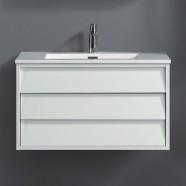 32 po Vanité suspendu au mur avec lavabo (VSW8003-V)
