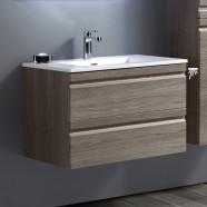 32 po Vanité suspendu au mur avec lavabo (ZRW8002-V)