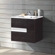 24 po Vanité suspendu au mur avec lavabo (MG600A-V)