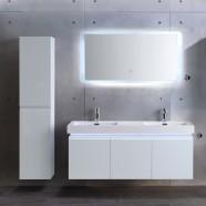 """Ensemble meuble salle de bain avec vanité 54"""", miroir LED, cabinet latéraux (ML1380-SET)"""