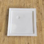 """Base de douche carrée 36"""" x 36"""" avec brides de carrelage (DK-T202)"""