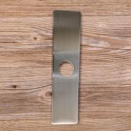 Plaque de Pont de Trou pour Robinet - Acier Inoxydable Fini Brossé (P411BN)