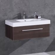 35 po Vanité en contreplaqué avec lavabo (DK-T5007-V)
