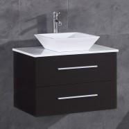 30 po Vanité en contreplaqué avec lavabo (DK-T9152A-V)