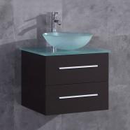 24 po Vanité en contreplaqué avec lavabo (DK-T9190-V)