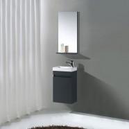 Ensemble de vanité 16 po avec miroir (MS400C-SET)