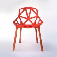 Chaise orange (T878E007-OG)