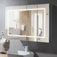 36 x 24 Po Armoire-Miroir LED avec Capteur Infrarouge (DK-NS165)