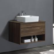 32 po Vanité suspendu au mur avec lavabo (AG8001W-V)