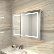 36 x 24 Po Armoire-Miroir LED avec Capteur Infrarouge (GG03-3624)