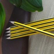 Crayon HB Triangulaire, 2.0mm, 12/Paquet (DK-PP018)