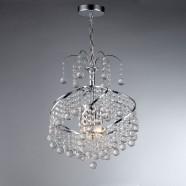 Lustre à 3 Lumières avec Abat-jour - Cristal de Style Moderne (DK-SS006)
