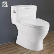 cUPC Toilette Monopièce Économique d'Eau en Céramique à Simple Chasse (DK-ZBQ-12234)