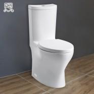 CUPC Toilette Monopièce Économique d'Eau en Céramique à Double Chasse (DK-ZBQ-12238)