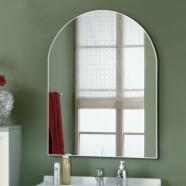 24 x 32 po Miroir Cintré de Salle de Bain - Accrochage Vertical (DK-OD-B101)