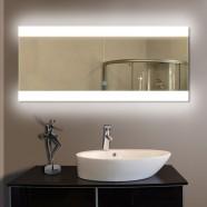 80 x 36 po Miroir LED Salle de Bain Horizontal avec l'Interrupteur Tactile (DK-OD-T03-2)