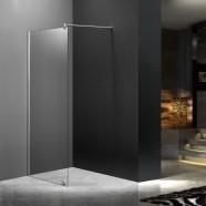 40 po (100 cm) Paroi de Douche Walkin en Verre Trempé Transparent (DK-MS-WG-01)