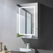 24 x 32 Po Armoire-Miroir LED avec Capteur Infrarouge (NS169-2432-G)